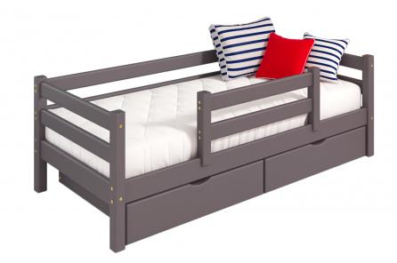 """Кровать """"Соня"""" Лаванда с защитой по центру"""