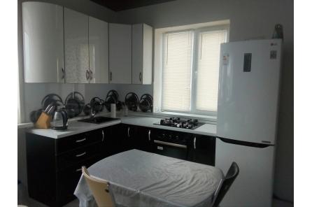 кухонный гарнитур с фотопечатью шары